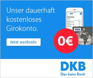 DKB-Cash: 0 € Kontoführung mit gratis Partnerkarten